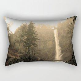 Multnomah Falls - Upper Falls Rectangular Pillow
