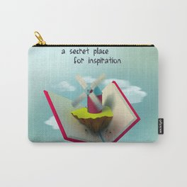 A secret place for inspiration Carry-All Pouch