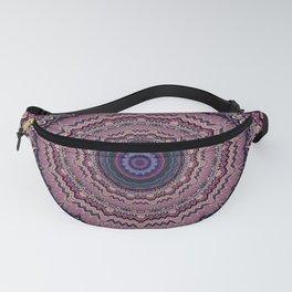 Mauve Bohemian Mandala Design Fanny Pack