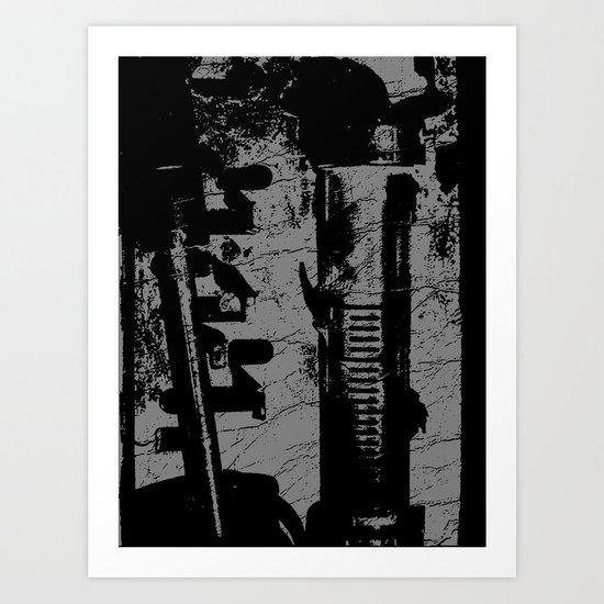 needled Art Print