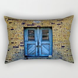 Blue Door 64 Rectangular Pillow