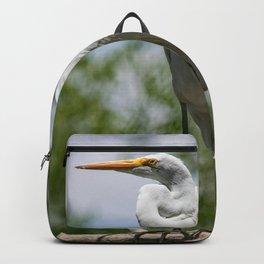 Great Egret - Utah Backpack