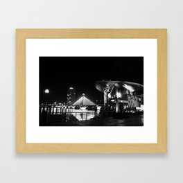 Song Han river Framed Art Print