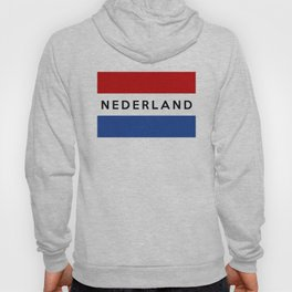 netherlands dutch country flag nederland name text Hoody