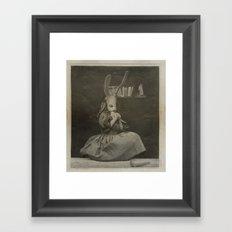My Broken Gift Framed Art Print