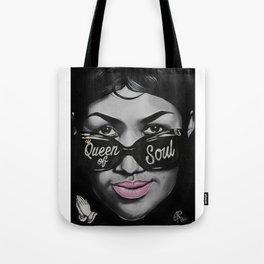 Queen of Soul Tote Bag