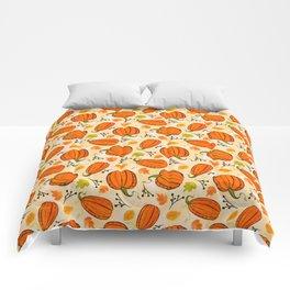 Pumpkins pattern I Comforters