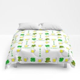 I'm Irish - St Patrick's Day Design Comforters