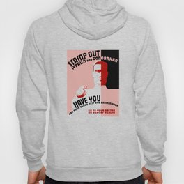 Stamp Out Syphilis And Gonorrhea -- WPA Hoody