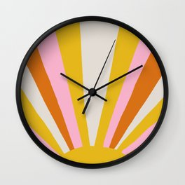 sunshine state of mind Wall Clock