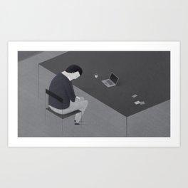 Freelancer Art Print
