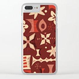 Nabukelevu Clear iPhone Case
