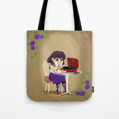 Retro Sailor Saturn Tote Bag