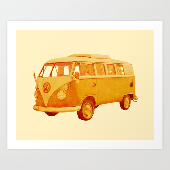 Summer Ride Art Print