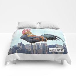 A HUGE COCK Comforters