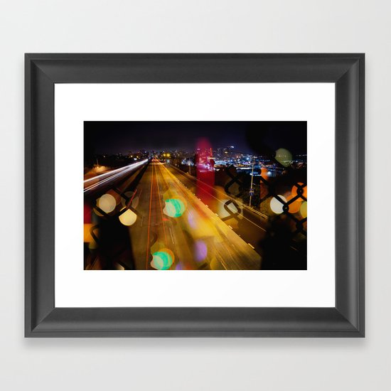 Focus On What's Unclear Framed Art Print