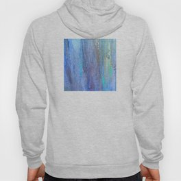 Edges of the Sky in Blues, Aquas and Green Hoody