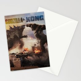 Godzilla vs Kong Stationery Cards