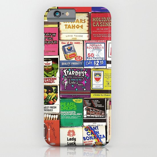 Antique Matchbooks iPhone & iPod Case