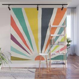 Rainbow ray Wall Mural
