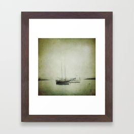 Two boats Framed Art Print