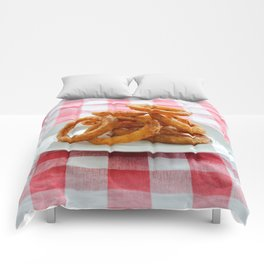 Onion Rings Comforters