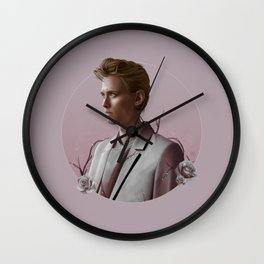 EVERY ROSE HAS ITS THORN Wall Clock