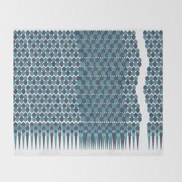 Cubist Ornament Pattern Throw Blanket