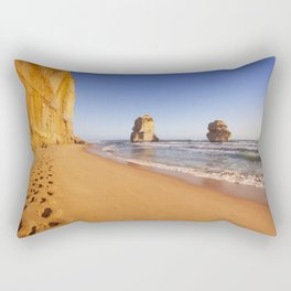 I - Twelve Apostles on the Great Ocean Road, Australia at sunset Rectangular Pillow