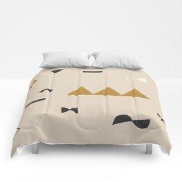 desertscape – neutral Comforters