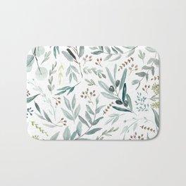 Eucalyptus pattern Bath Mat