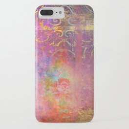 Boho Rose iPhone Case