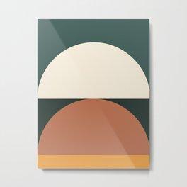 Abstract Geometric 01E Metal Print