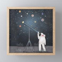Astronaut Astrology Framed Mini Art Print