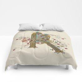 Celtic Initial K Comforters