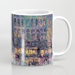 Paris - Le quai Conti along the River Seine by Maximilien Luce Coffee Mug