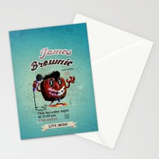 James BROWNIE! Stationery Cards