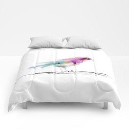 cute bird2 Comforters