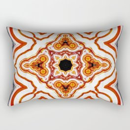 India Print Rectangular Pillow