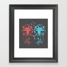 Probe Droid Lovin' Framed Art Print