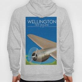 Wellington New Zealand By air. Hoody