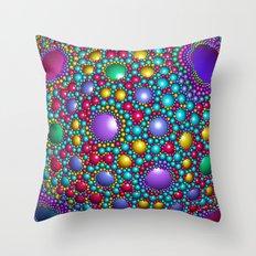 Colored balls Throw Pillow