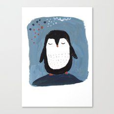 Penguine Canvas Print