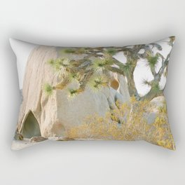 Jumbo Rocks Campground, Joshua Tree Rectangular Pillow