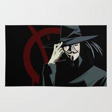 V for Vendetta (e1) Rug