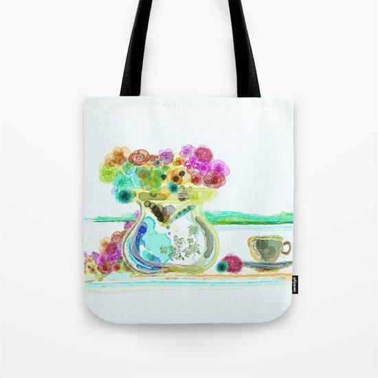 morning tea Tote Bag