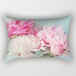 3 peonies Rectangular Pillow