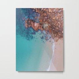 Gorgeous Tropical Ocean Metal Print