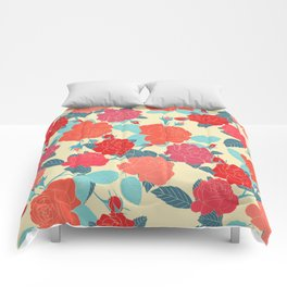 Rose Garden - Light Comforters
