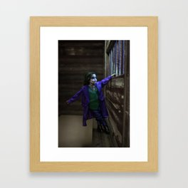Little Joker Framed Art Print